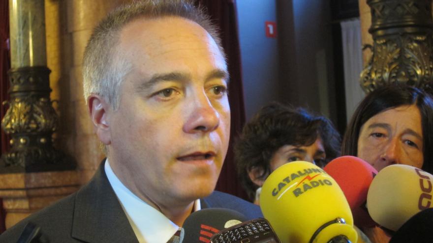 Pere Navarro afirma que el PSC no apoyará en el Parlamento catalán que Rajoy transfiera la competencia