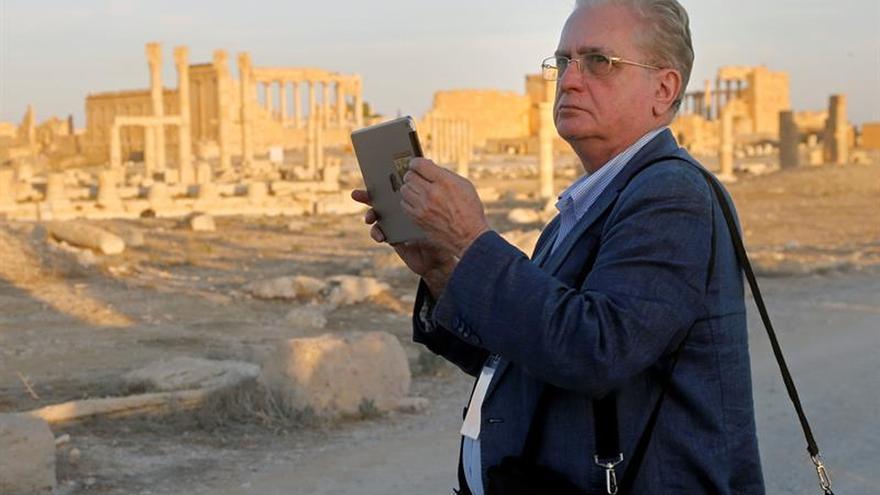 La vida vuelve a las ruinas romanas de Palmira