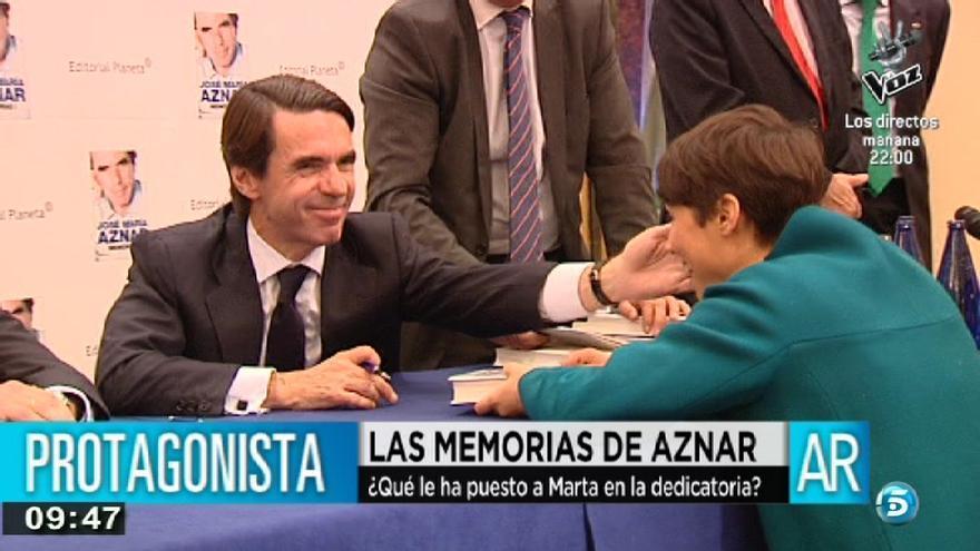 Aznar, ese hombre