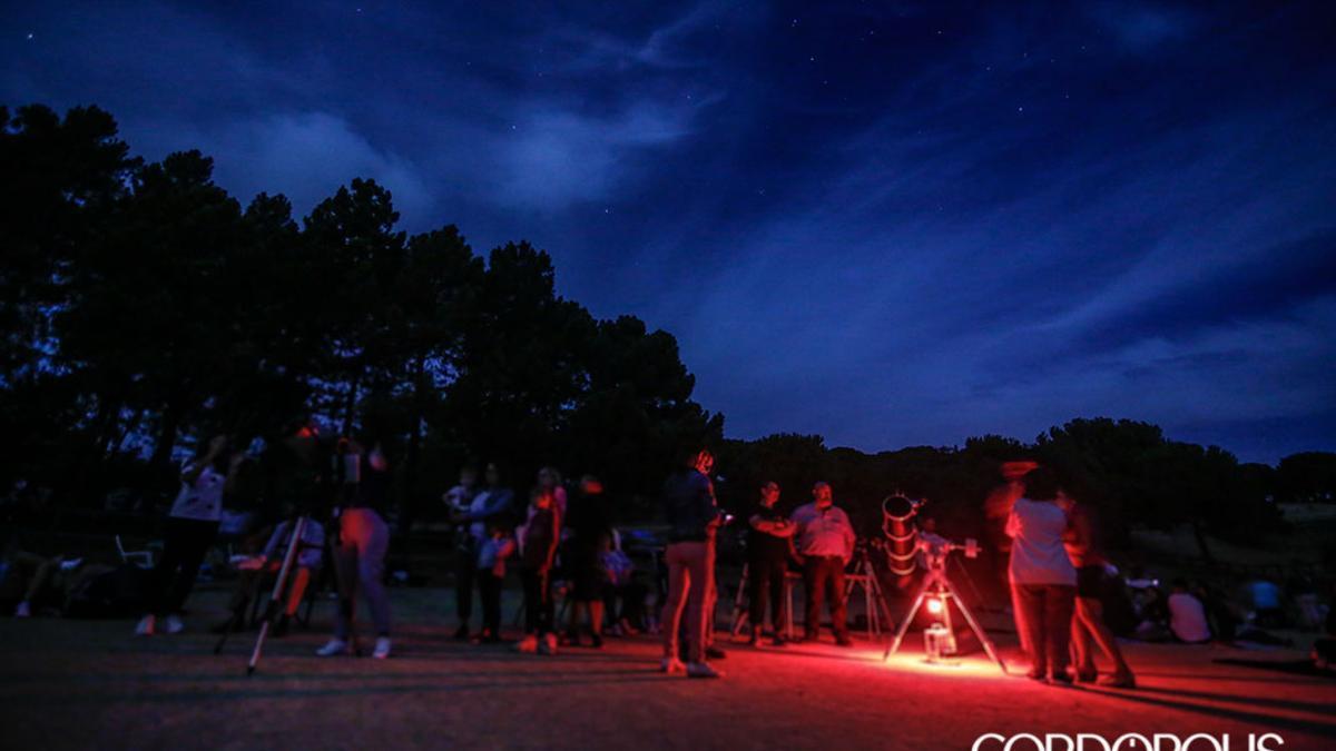 Salida al parque periurbano de Los Villares para ver las las Perseidas