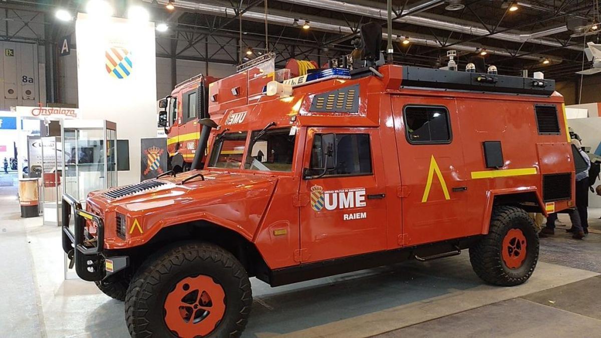 Imagen de la Feria Internacional de Defensa y Seguridad de 2019.