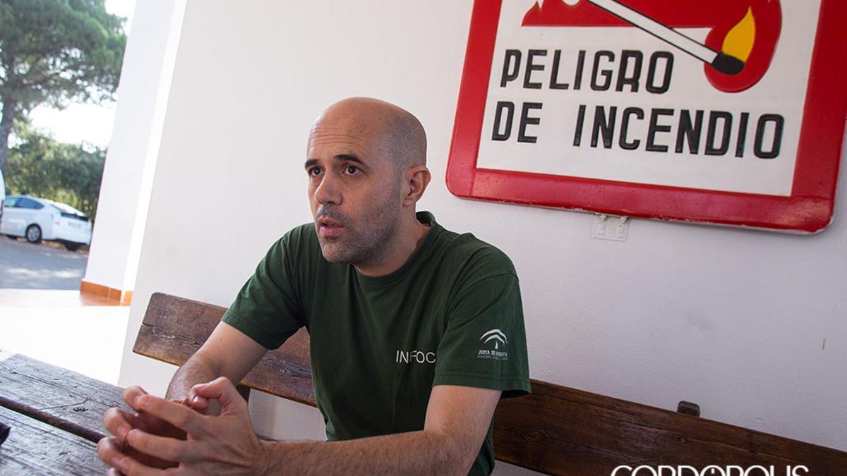 El subdirector del Plan Infoca en Córdoba, César Vicente