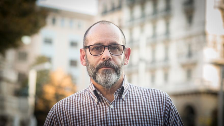 José Antonio Aguilar, director del Festival de Cine de Fuentes de Ebro