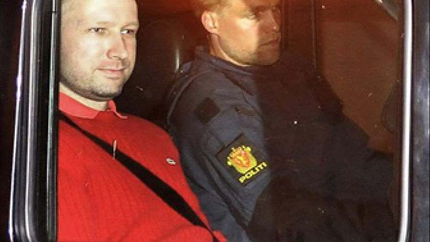 Anders Breivik. (REUTERS)