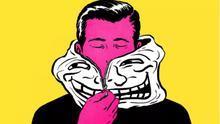 Más allá del troll. Ilustración de Jim Cooke (cc Gizmodo)