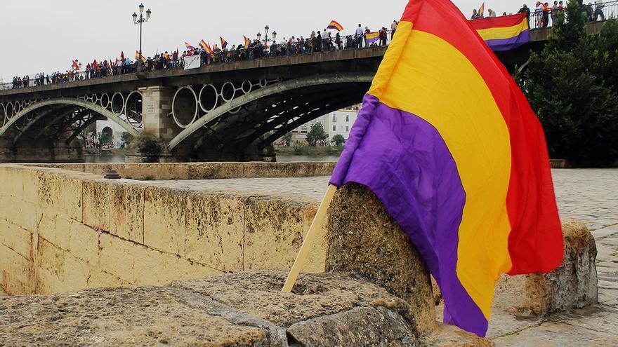 Manifestación republicana. / Juan Miguel Baquero