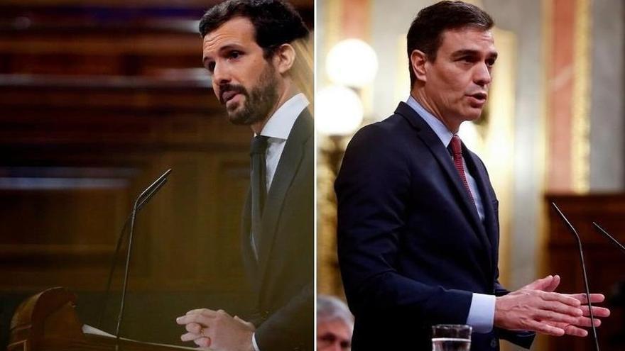 Casado desconfía de Sánchez pero le escuchará antes de decidir si apoya prórroga y se sienta en mesa de diálogo