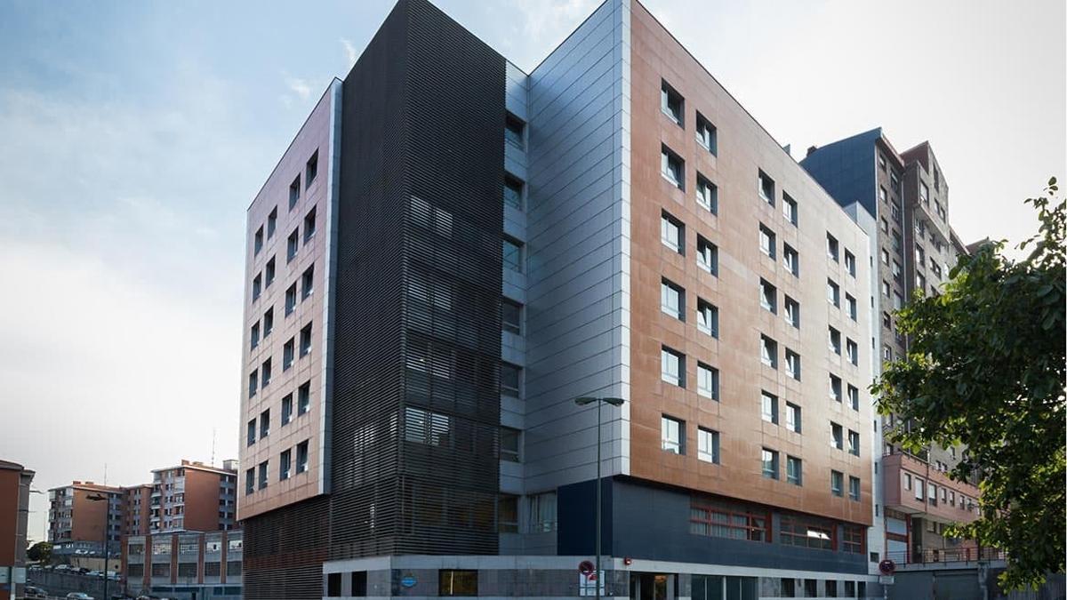 Residencia Gazteluondo de Bilbao, donde ha aparecido el último brote