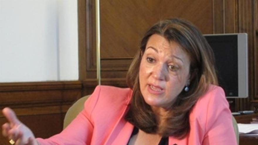 Soraya Rodríguez, portavoz del PSOE en el Congreso