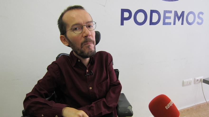 """Podemos dice a Ciudadanos que plantear un gobierno con el PP de Barberá o Bárcenas es """"tomar el pelo"""" a los españoles"""