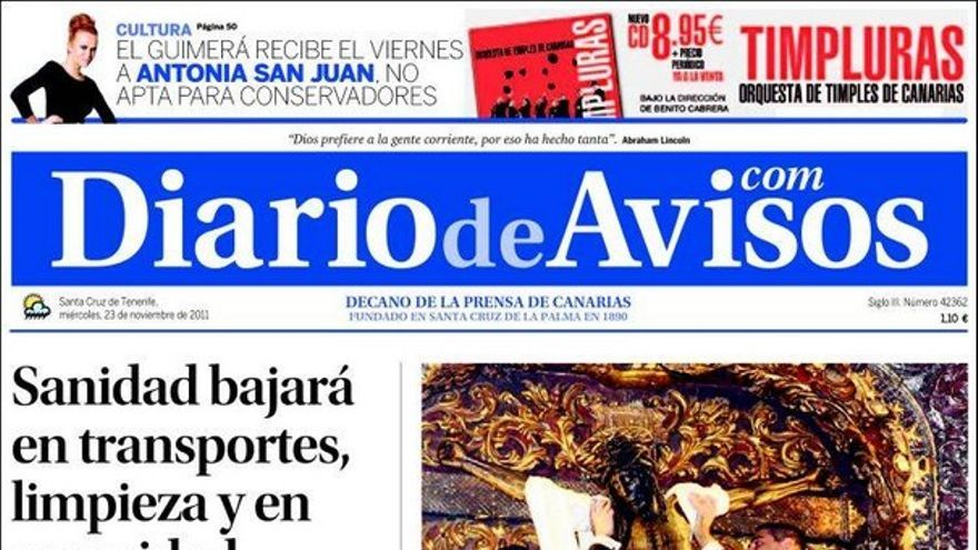 De las portadas del día (23/11/2011) #3