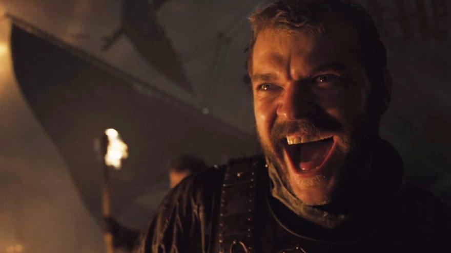 Euron Greyjoy atacando a la flota de Daenerys
