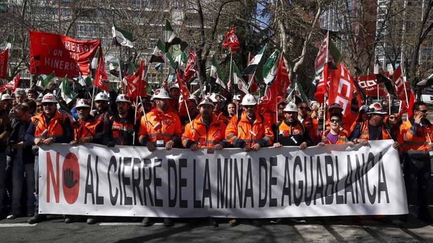 Río Narcea acuerda aplazar al 30 de junio los despidos en la mina Aguablanca