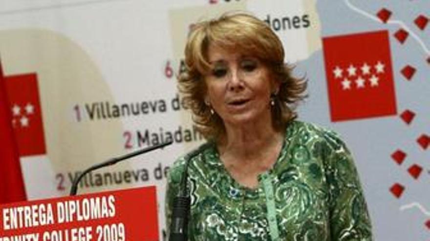 RDP de Esperanza Aguirre