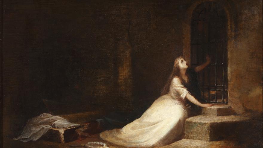 Cano de la Peña, Eduardo, 'La novia enterrada viva', 1868.