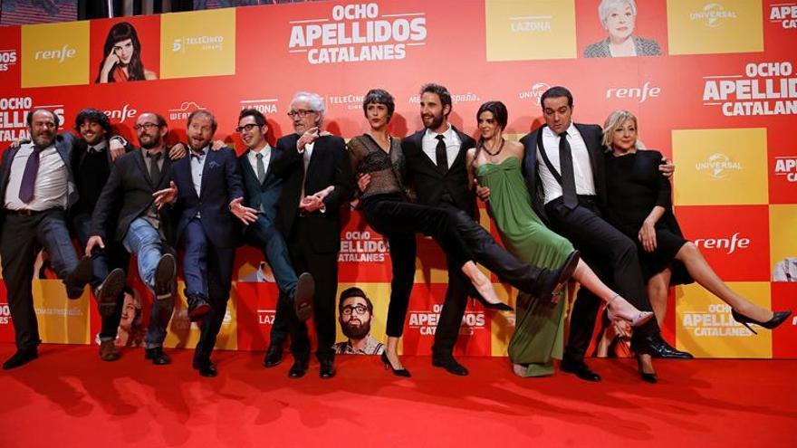 """""""Ocho apellidos catalanes"""", octavo film europeo más visto en la UE en 2015"""