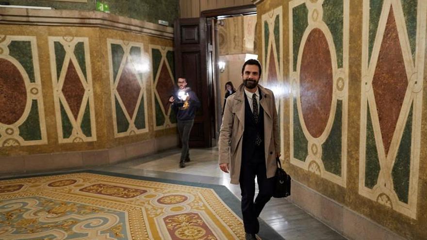 """Torrent exige al Gobierno """"respeto"""" y mantiene la investidura de Puigdemont"""