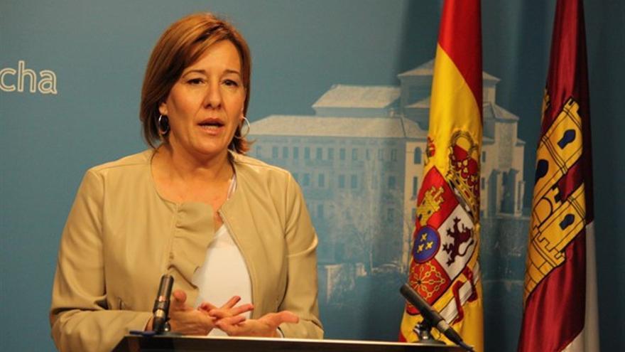 Blanca Fernández, portavoz del Grupo Socialista en las Cortes de Castilla-La Mancha (archivo)