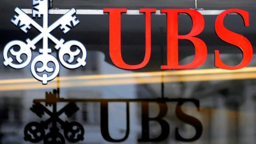 UBS gana 2.155 millones de euros en el primer semestre, un 28,7 % más