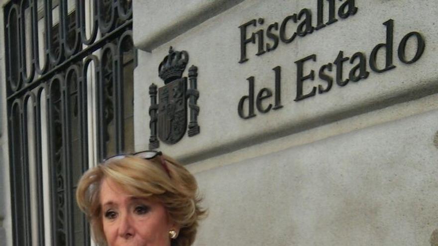 Aguirre lleva a la Fiscalía General del Estado la filtración de su declaración de la renta