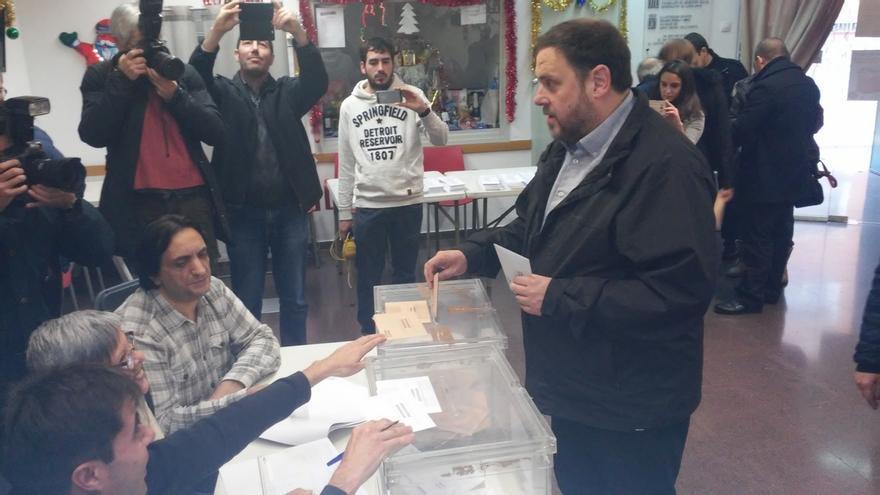 """Junqueras dejará de ser alcalde para volcarse en """"la etapa histórica"""" de Cataluña"""