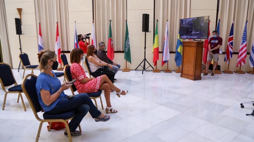 Presentan el vídeo 'Ibn Gabirol, el malagueño' para la difusión internacional del milenario