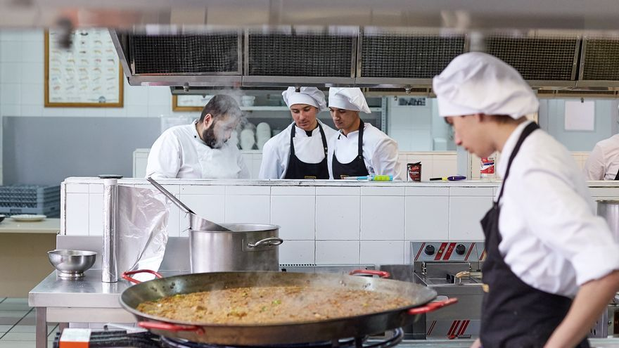 Cocina vegana en la Escuela Superior de Hostelería y Turismo de Madrid