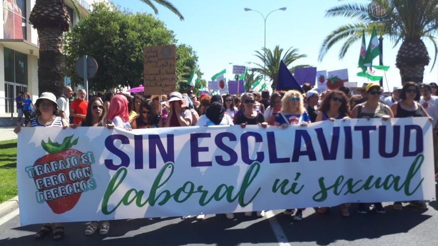 La Audiencia Nacional pide información sobre las denuncias de abusos a temporeras en Almonte