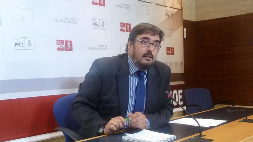 Rafael Esteban, presidente del Grupo Socialista en las Cortes regionales / Foto: EUROPA PRESS