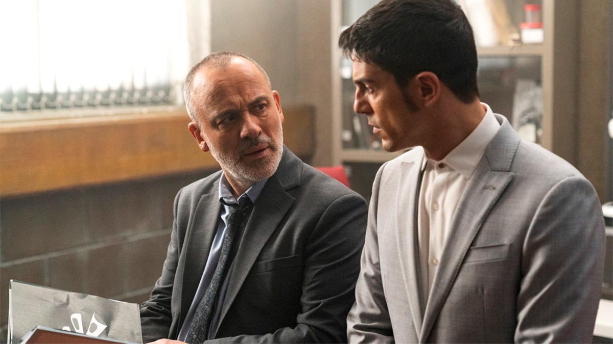 Márquez y Iago, en el final de la cuarta temporada de 'Estoy vivo'