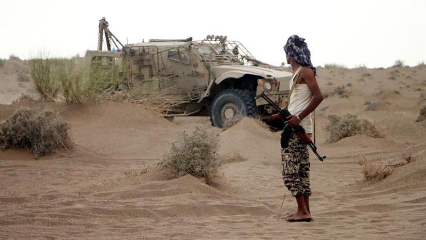 Al menos 26 heridos de metralla por un misil de hutíes en el sur de Arabia Saudí