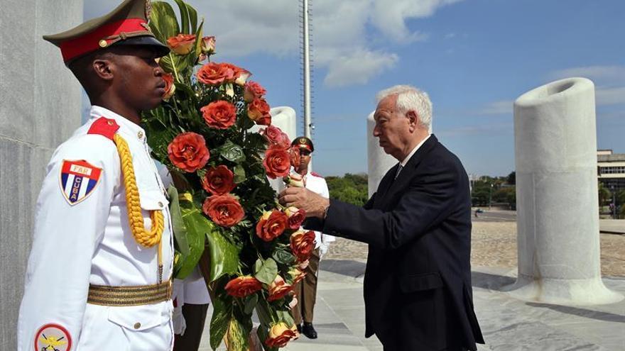 García-Margallo se reúne en La Habana con el canciller cubano Bruno Rodríguez