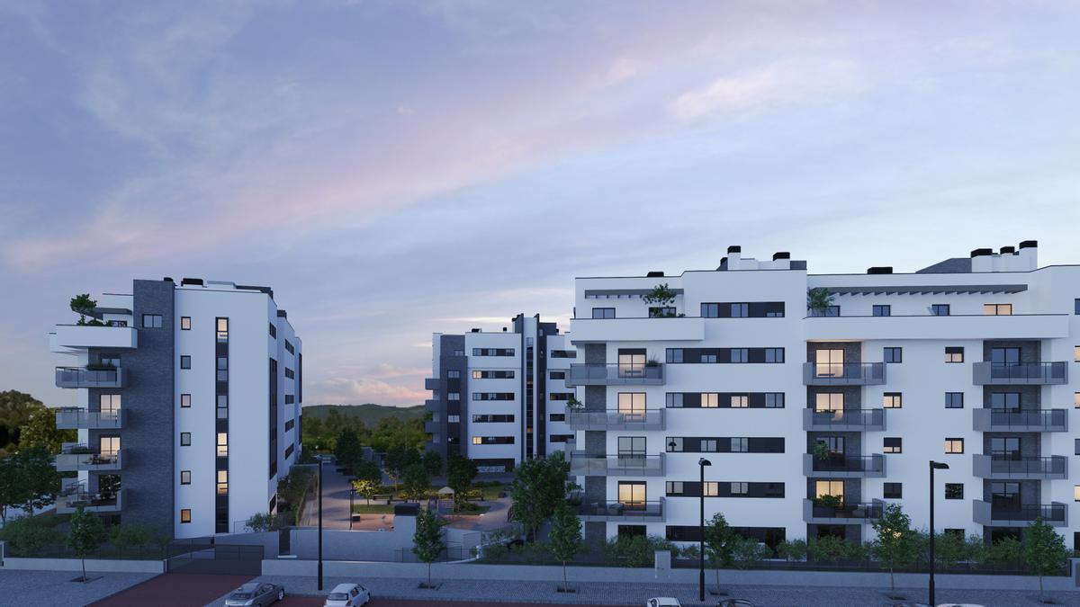 Detalle de cómo será el residencial Panorama
