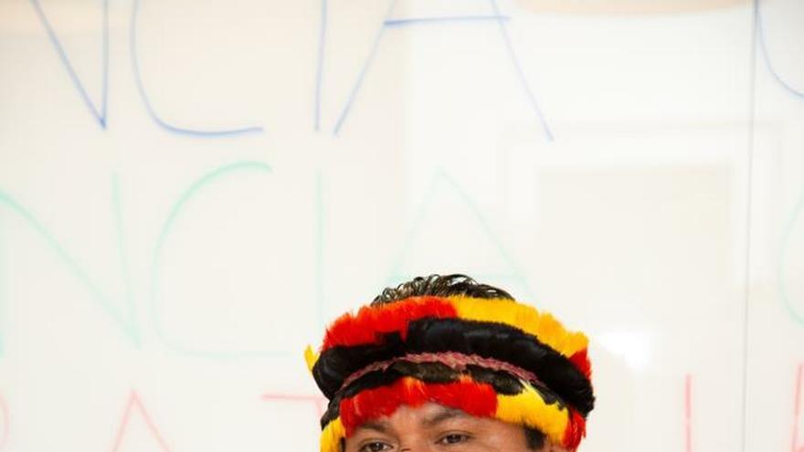 """Las """"otras Gretas"""": líderes indígenas que reclaman luchar por la Madre Tierra"""