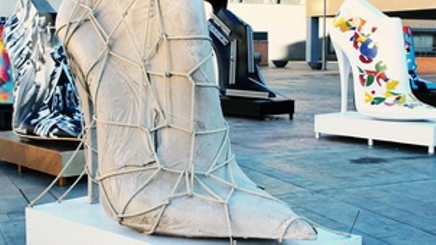 Zapatos-Escultura