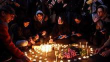 Protestas en Teherán contra las autoridades por el derribo del avión
