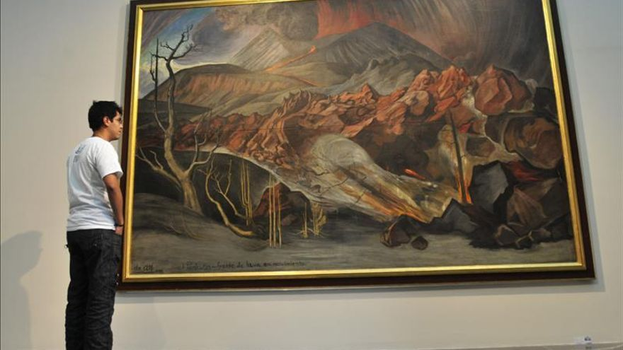 Una exposici n revela la obra del impulsor del muralismo for Mural nuestra carne