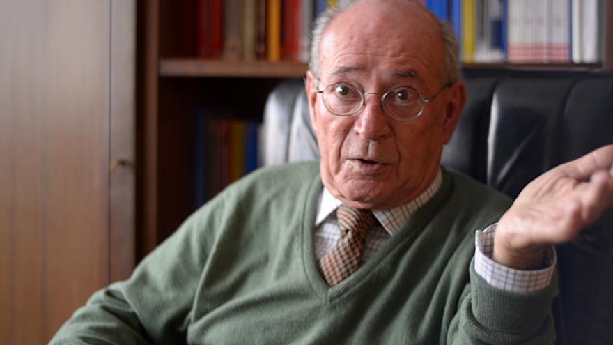 Ramiro García de Dios, juez de control del CIE de Madrid. | Foto: Ana Muñiz de la Oliva.
