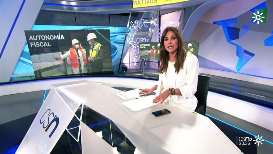 Mariló Montero en Noticias 2 de Canal Sur