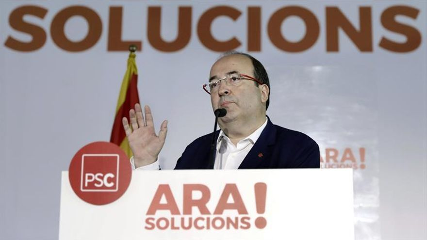 Iceta acusa a independentismo de romper consensos logrados por catalanismo