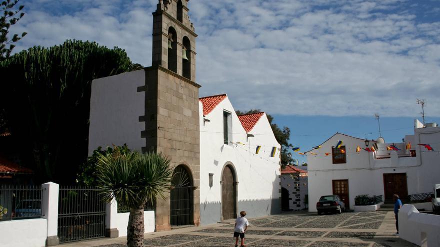Iglesia de San Francisco, en el barrio homónimo del municipio de Telde.