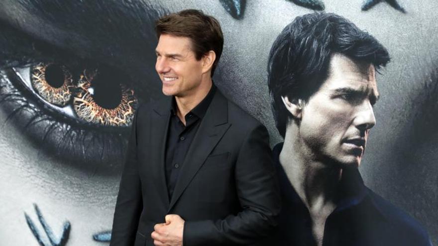 El actor estadounidense Tom Cruise, posa en un estreno.