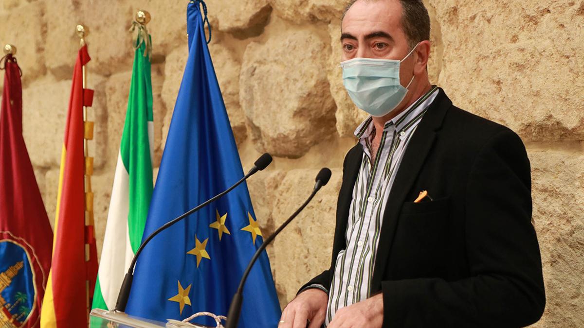El delegado de Comercio, Antonio Álvarez