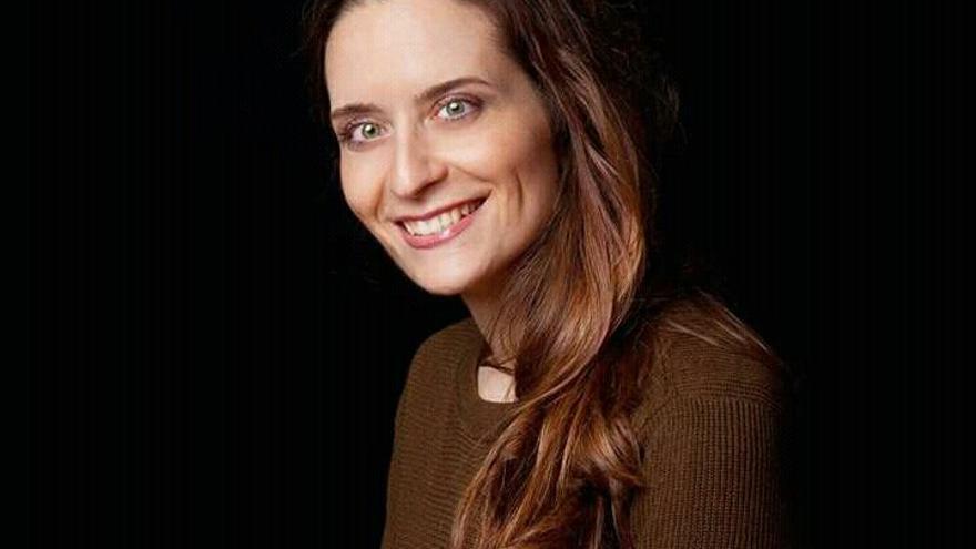 La escritora Belén Lorenzo en una imagen de EMILIO BARRIONUEVO.