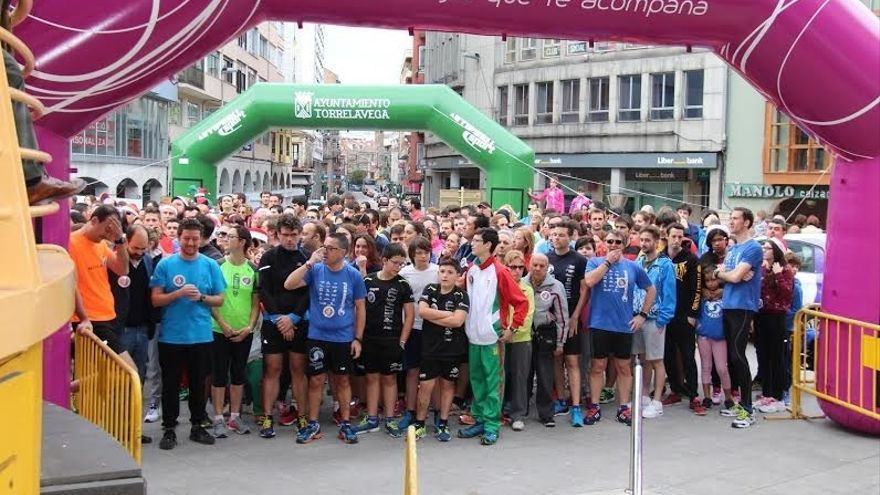 Más de 500 personas combinan hojaldre y deporte en el I Desafío Solidario Hojaldro