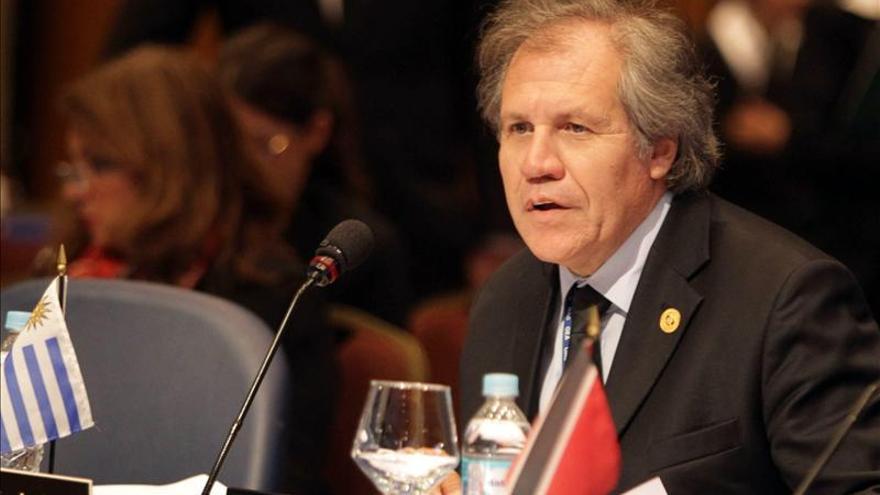 """Almagro afirma que no será """"condescendiente"""" para lograr los apoyos de cara a la OEA"""