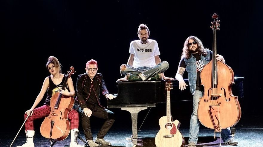 La gira '50 palos' de Jarabe de Palo llega el próximo miércoles al teatro Victoria Eugenia de San Sebastián