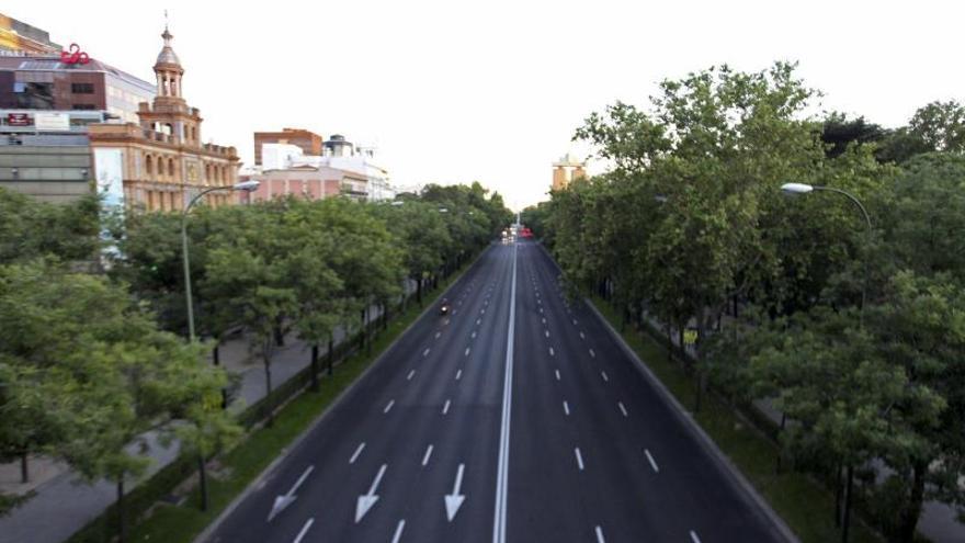 Dos muertos, en Castellana y Gran Vía, por atropello y accidente en Madrid
