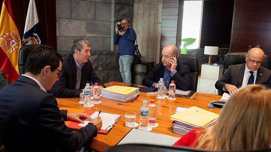 Consejo de Gobierno celebrado en Santa Cruz de Tenerife. EFE/Ramón de la Rocha