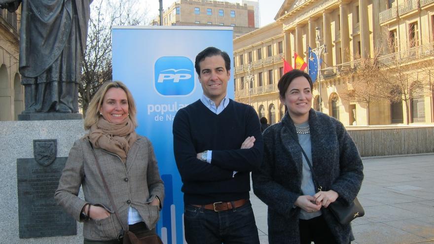"""Zalba, candidato del PPN en Pamplona, asume el reto """"ilusionado"""" y con el objetivo de """"mejorar el resultado actual"""""""